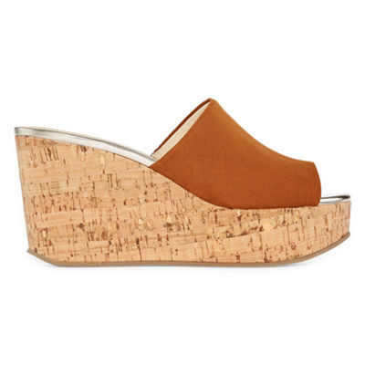 Liz Claiborne Womens Paloma Wedge Sandals