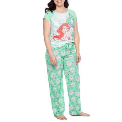 Disney Princess 2-pc. Hearts Pant Pajama Set