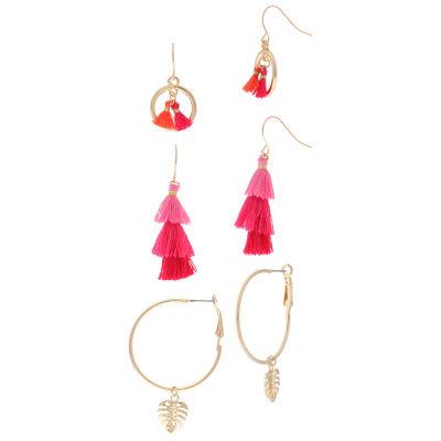 Decree Brass Drop Earrings