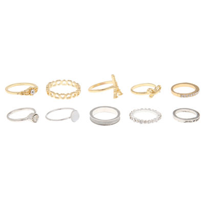 Decree Womens Brass Stackable Ring