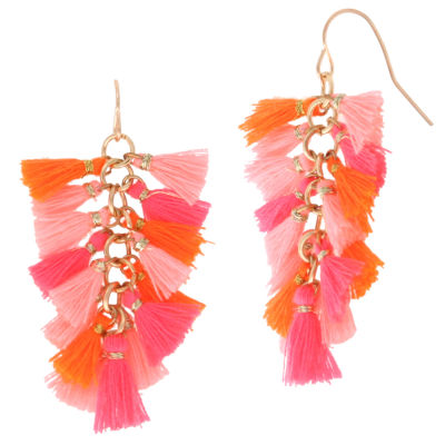 Decree 1 3/4 Inch Stud Earrings