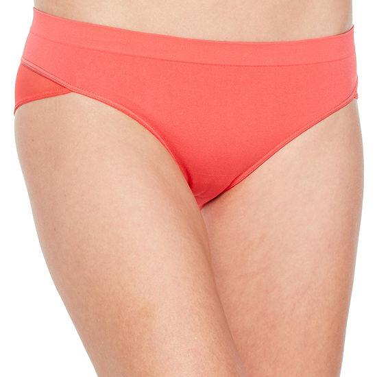 Ambrielle Seamless Mesh Bikini Panty Rj14p060