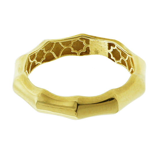 Womens 3.5mm 14K Gold Band