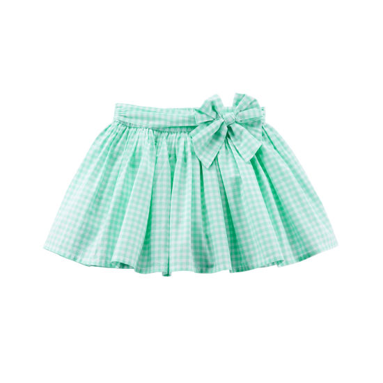 Carter's Gingham Print with Bow Waist Skirt - Toddler Girl 2T-5T
