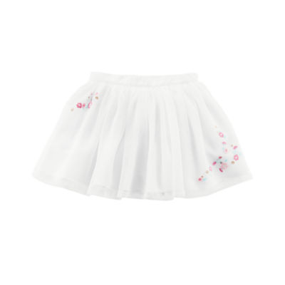 Carter's Floral Accent Tutu Skirt -Toddler Girl 2T-5T