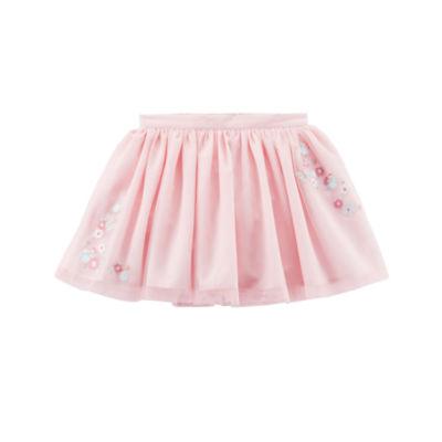 Carter's Floral Accent Tutu Short Skirt - Preschool Girls
