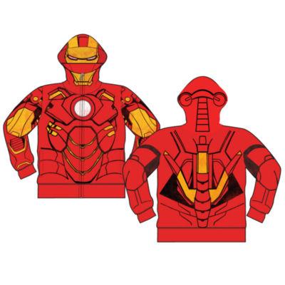Boys Costume Hoodies Iron Man Hoodie-Preschool Boys
