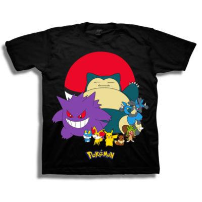 Pokemon Graphic T-Shirt-Preschool Boys