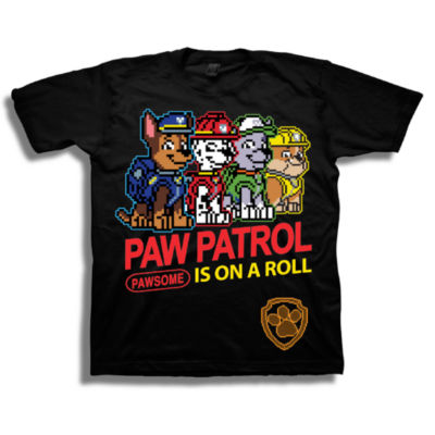 Paw Patrol Graphic T-Shirt-Preschool Boys