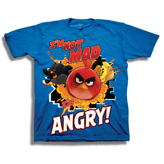 Angry Birds Graphic T-Shirt-Preschool Boys