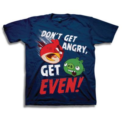 Angry Birds Graphic T-Shirt-Big Kid Boys