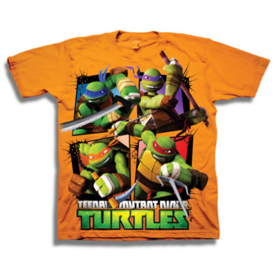 Teenage Mutant Ninja Turtles Graphic T-Shirt-Preschool Boys
