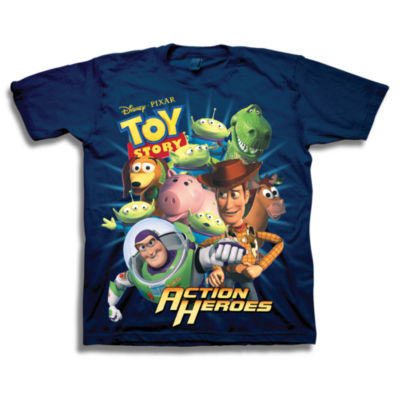 Toy Story Graphic T-Shirt-Preschool Boys