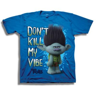 Trolls Graphic T-Shirt-Big Kid Boys