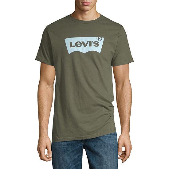 Levi's Mens Crew Neck Short Sleeve Logo Graphic T-Shirt