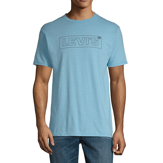 Levi's Mens Crew Neck Short Sleeve Logo Graphic T-Shirt