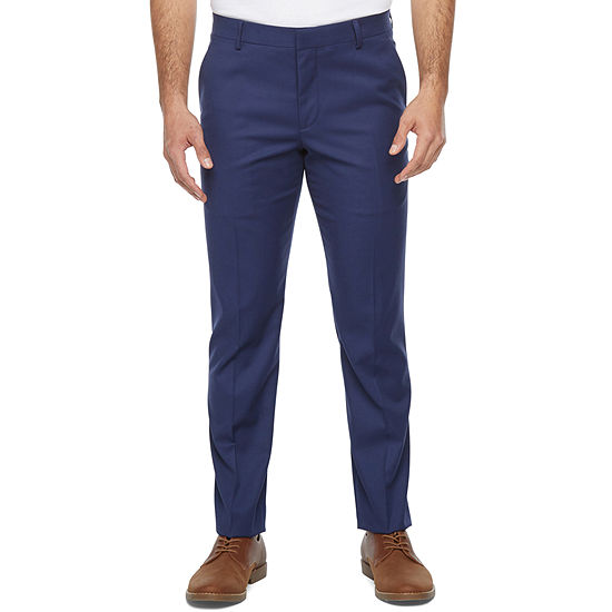JF J.Ferrar Ultra Comfort Mens Super Slim Fit Suit Pants