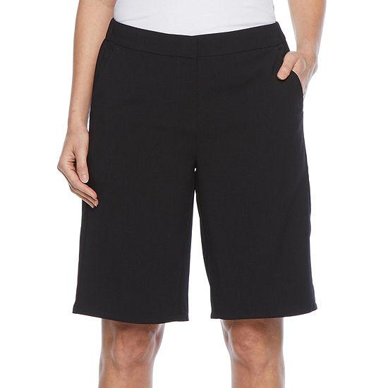 Liz Claiborne Womens Midi Short