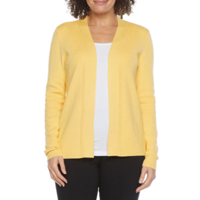 Liz Claiborne Knit Midweight Cropped Jacket
