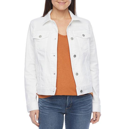 a.n.a Womens Denim Jacket