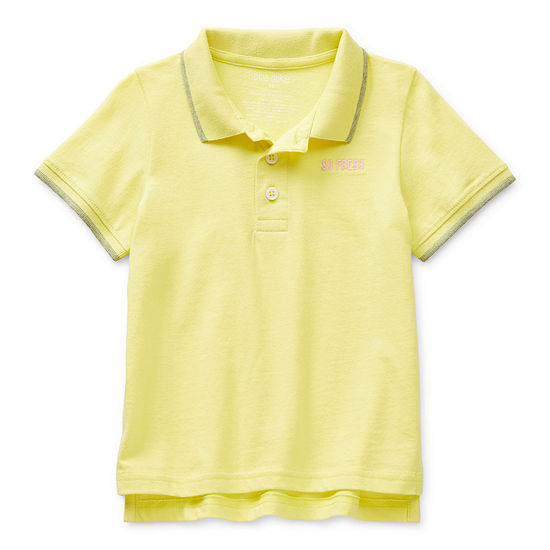 Okie Dokie Toddler Boys Short Sleeve Polo Shirt