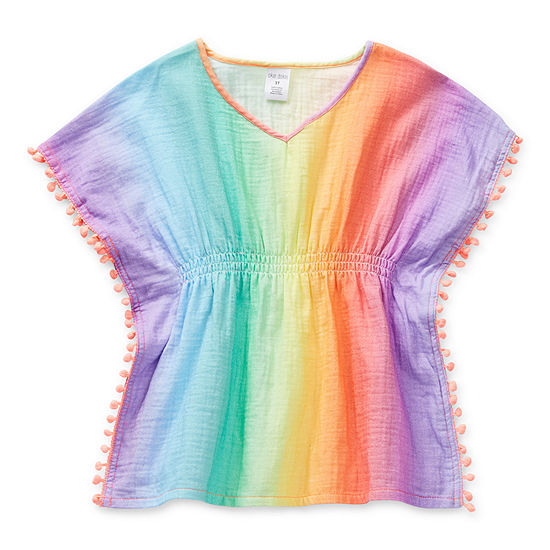 Okie Dokie Toddler Girls Ombre Swimsuit Cover-Up Dress