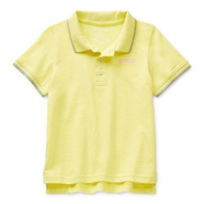 Okie Dokie Little Boys Short Sleeve Polo Shirt
