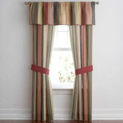 Rod-Pocket Single Curtain Panel