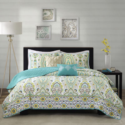 Intelligent Design Ellie Medallion Quilt Set