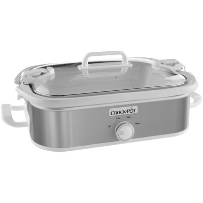 Crock-Pot® Casserole Crock Slow Cooker, Stainless Steel