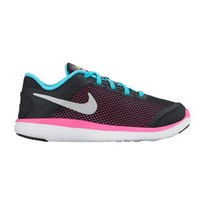 Nike® Flex 2016 Girls Running Shoes - Little Kids