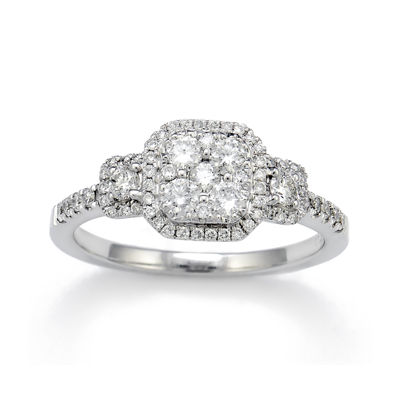 LIMITED QUANTITIES 5/8 CT. T.W. Diamond 14K White Gold Engagement Ring