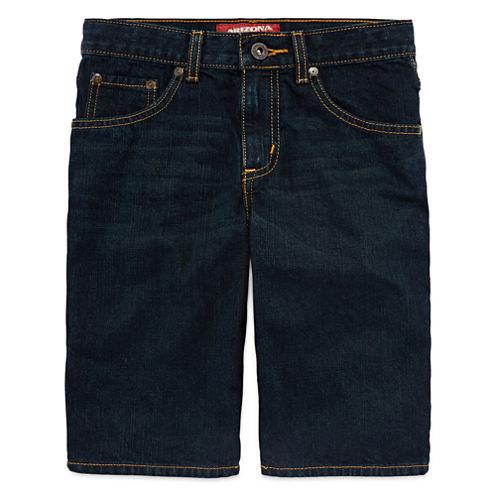 Arizona 5-Pocket Denim Shorts - Boys 8-20, Slim and Husky