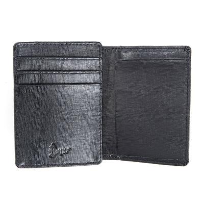 Royce® Saffiano Cowhide Money Clip ID Wallet