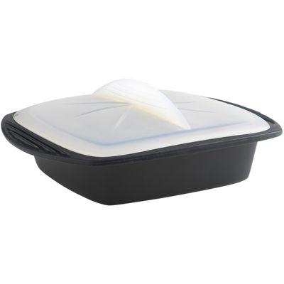 Mastrad® Square Black Silicone Minute Cooker