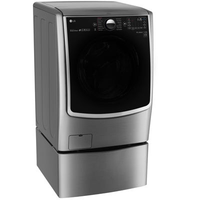 LG 4.5 cu. ft. Mega Capacity Smart Wi-Fi Enabled TurboWash™ Washer with Steam™ Technology