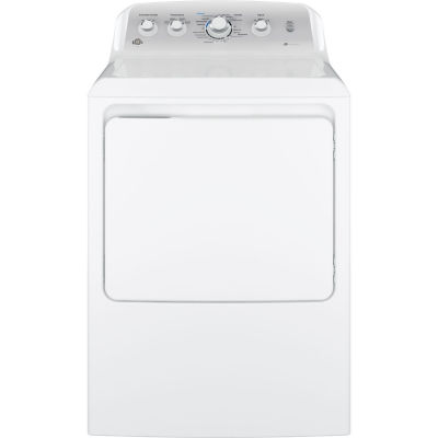 GE® 7.2 cu. ft. Capacity Aluminized Alloy Drum Electric Dryer With Sensor Dry