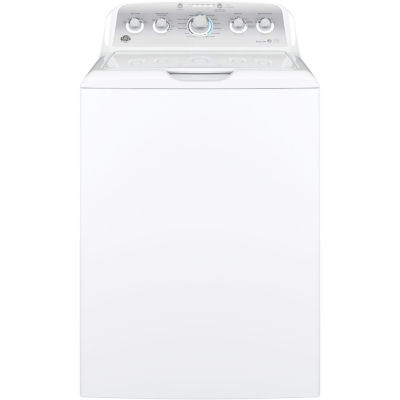 GE® ENERGY STAR®  4.2 DOE cu. ft. Stainless Steel Capacity Washer