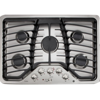 """GE Profile™  30"""" Built-In Gas Cooktop With 5 Burners"""