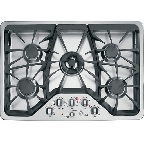 """GE Café ™  30"""" Built-In Gas Cooktop With 5 Burners"""