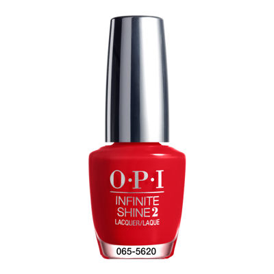 OPI Unequivocally Crimson Infinite Shine Nail Polish - .5 oz.