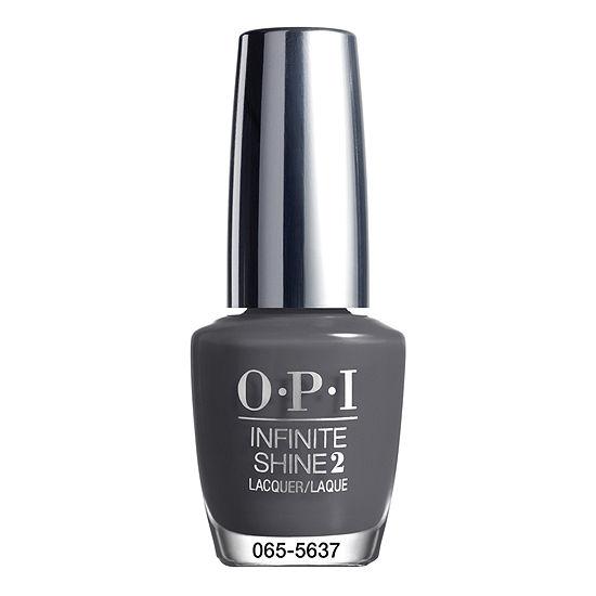 OPI Steel Waters Run Deep Infinite Shine Nail Polish - .5 oz.