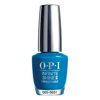 OPI Wild Blue Yonder Infinite Shine Nail Polish - .5 oz.