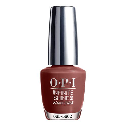 OPI Linger Over Coffee Infinite Shine Nail Polish - .5 oz.
