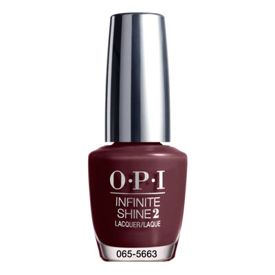 OPI Stick To Your Burgundies Infinite Shine Nail Polish - .5 oz.