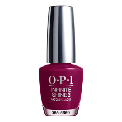 OPI Berry On Forever Infinite Shine Nail Polish - .5 oz.