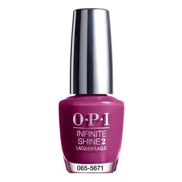 OPI Don't Provoke The Plum! Infinite Shine Nail Polish - .5 oz.