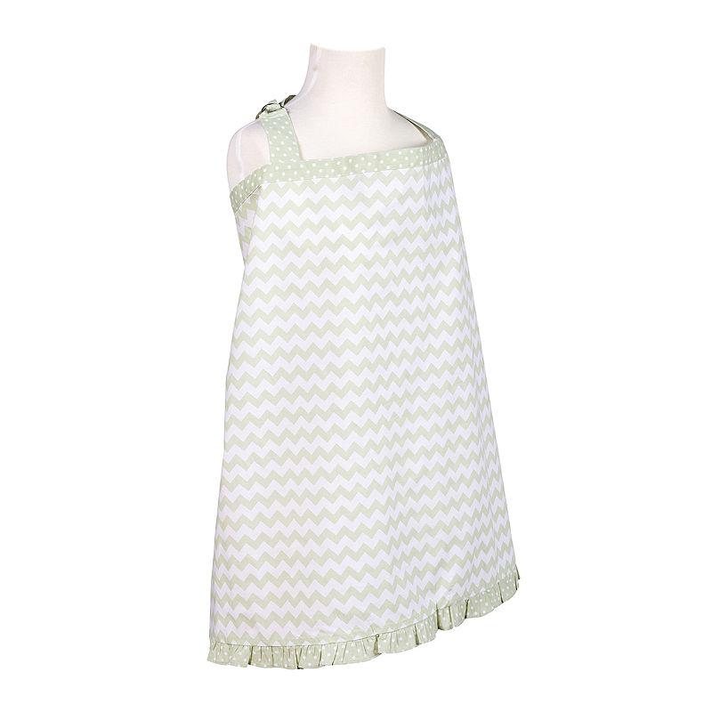 Trend Lab Sea Foam Chevron Nursing Cover plus size,  plus size fashion plus size appare