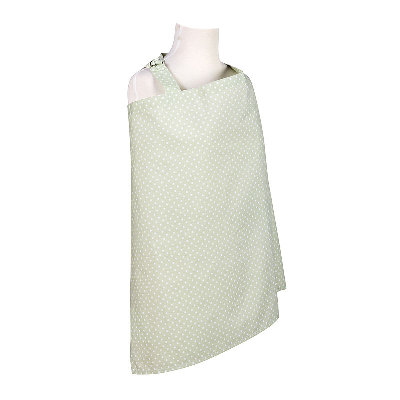 Trend Lab Sea Foam Dot Nursing Cover plus size,  plus size fashion plus size appare