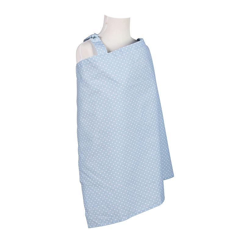 Trend Lab Blue Sky Dot Nursing Cover plus size,  plus size fashion plus size appare